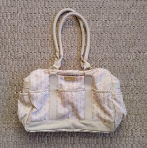 GUC Carters Diaper Bag Gender Neutral Beige White